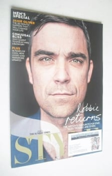 Style magazine - Robbie Williams cover (3 October 2010)