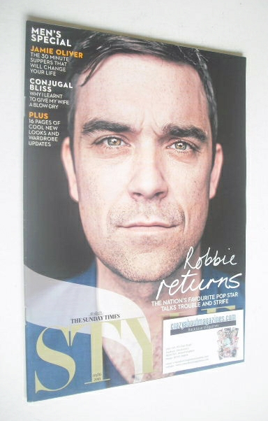 <!--2010-10-03-->Style magazine - Robbie Williams cover (3 October 2010)