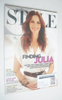 Style magazine - Julia Roberts cover (12 September 2010)