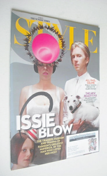 <!--2010-09-05-->Style magazine - Isabella Blow and Philip Treacy cover (5