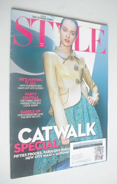 <!--2010-08-15-->Style magazine - Catwalk Special cover (15 August 2010)