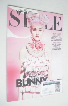 Style magazine - Bunny Girl cover (4 April 2010)