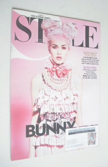<!--2010-04-04-->Style magazine - Bunny Girl cover (4 April 2010)