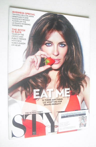 <!--2010-03-28-->Style magazine - Liz Hurley cover (28 March 2010)