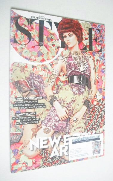 <!--2010-02-14-->Style magazine - New Body Art cover (14 February 2010)