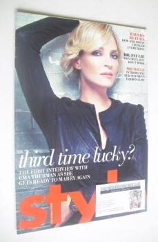 Style magazine - Uma Thurman cover (6 July 2008)