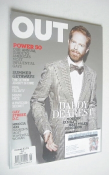 Out magazine - Jesse Tyler Ferguson (May 2010)