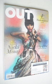 Out magazine - Nicki Minaj Issue (October 2010)