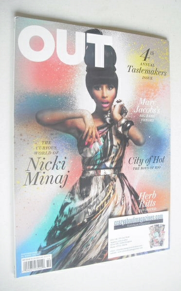 <!--2010-10-->Out magazine - Nicki Minaj Issue (October 2010)