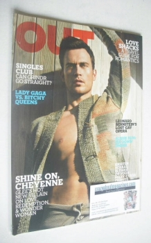 Out magazine - Cheyenne Jackson Issue (November 2010)