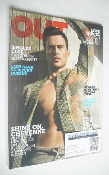 <!--2010-11-->Out magazine - Cheyenne Jackson Issue (November 2010)