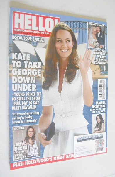 <!--2014-03-10-->Hello! magazine - The Duchess of Cambridge cover (10 March