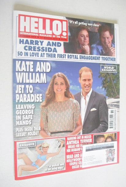 <!--2014-03-17-->Hello! magazine - The Duke and Duchess of Cambridge cover