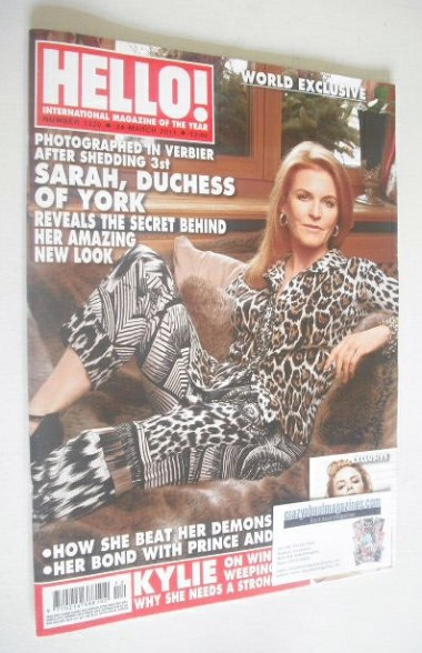 <!--2014-03-24-->Hello! magazine - The Duchess of York cover (24 March 2014