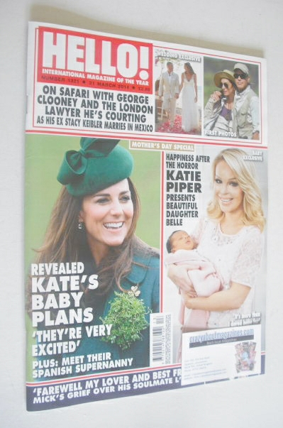 <!--2014-03-31-->Hello! magazine - The Duchess of Cambridge cover (24 Febru
