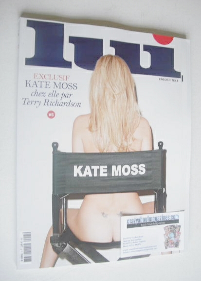 Lui magazine - Kate Moss cover (March 2014)