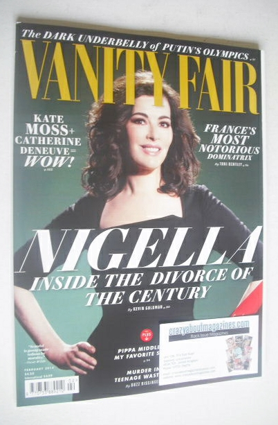 <!--2014-02-->Vanity Fair magazine - Nigella Lawson cover (February 2014)