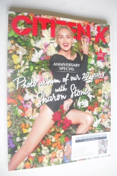 Citizen K magazine - Winter 2013/2014 - Sharon Stone cover