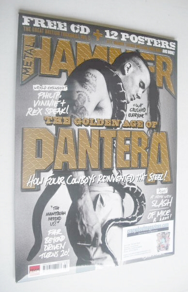 <!--2014-03-->Metal Hammer magazine - Pantera cover (March 2014)