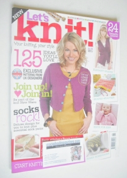 Let's Knit magazine (November 2007 - Issue 1)