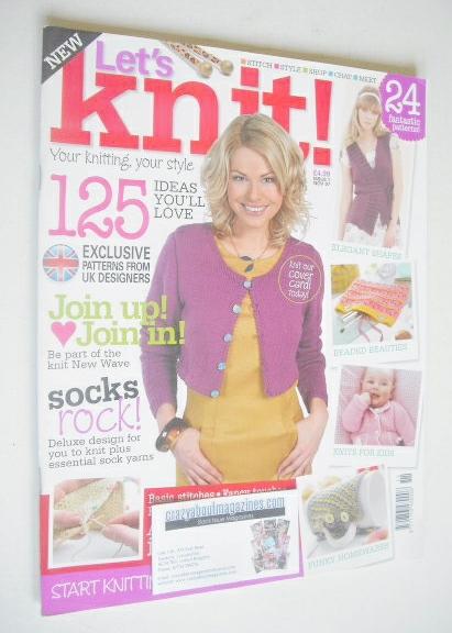 <!--2007-11-->Let's Knit magazine (November 2007 - Issue 1)