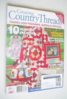 Creating Country Threads magazine (Volume 10 - No 10)