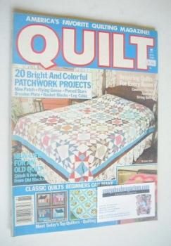 Quilt magazine (Spring 1988)