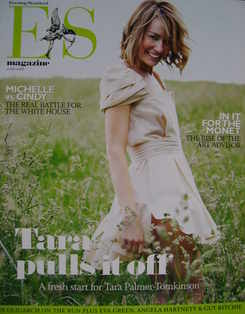 Evening Standard magazine - Tara Palmer-Tomkinson cover (11 July 2008)