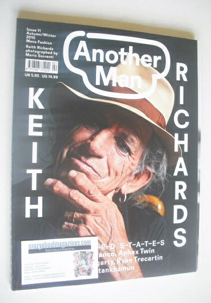<!--2010-09-->Another Man magazine - Autumn/Winter 2009 - Keith Richards co