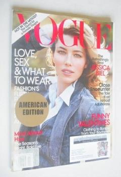US Vogue magazine - February 2010 - Jessica Biel cover