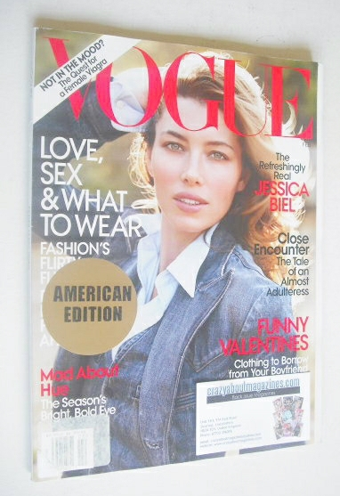 <!--2010-02-->US Vogue magazine - February 2010 - Jessica Biel cover