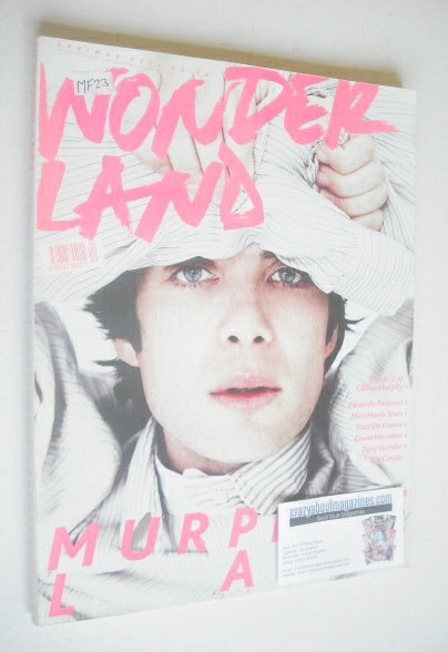 <!--2007-04-->Wonderland magazine - April/May 2007 - Cillian Murphy cover