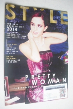 Style magazine - Emma Watson cover (30 March 2014)