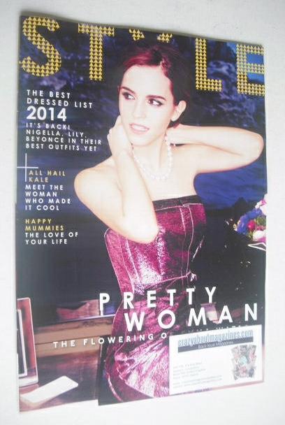 <!--2014-03-30-->Style magazine - Emma Watson cover (30 March 2014)