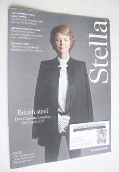 Stella magazine - Charlotte Rampling cover (6 April 2014)