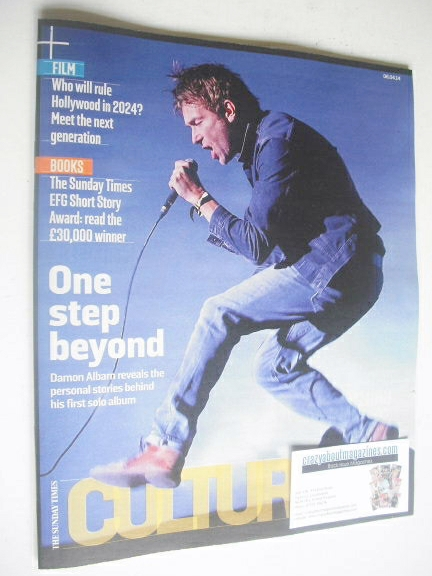 <!--2014-04-14-->Culture magazine - Damon Albarn cover (6 April 2014)