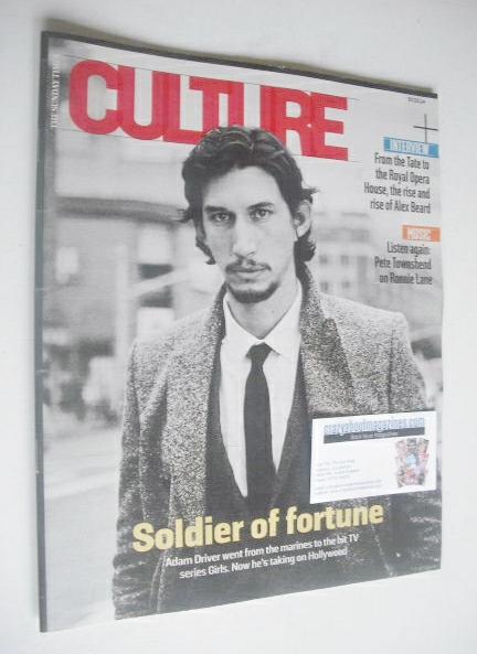 <!--2014-03-30-->Culture magazine - Adam Driver cover (30 March 2014)