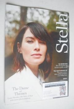 Stella magazine - Lena Headey cover (23 March 2014)