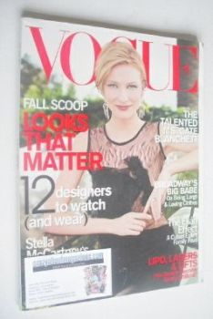 <!--2000-07-->US Vogue magazine - July 2000 - Cate Blanchett cover