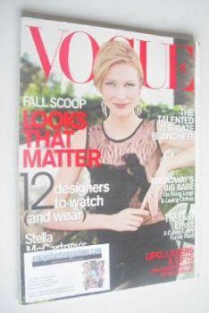US Vogue magazine - July 2000 - Cate Blanchett cover