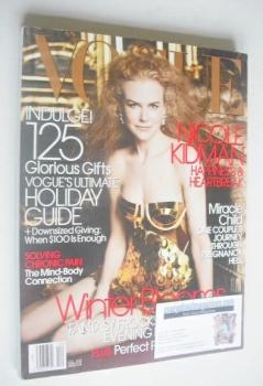 US Vogue magazine - December 2006 - Nicole Kidman cover
