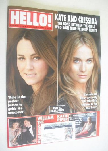 <!--2013-12-09-->Hello! magazine - Kate Middleton / Cressida Bonas cover (9