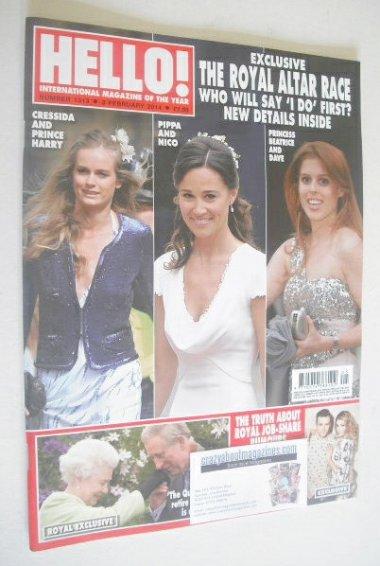 <!--2014-02-03-->Hello! magazine - The Royal Altar Race cover (3 February 2