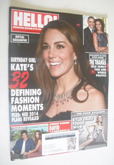 <!--2014-01-13-->Hello! magazine - The Duchess of Cambridge cover (13 Janua