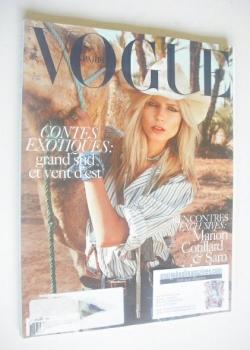 French Paris Vogue magazine - April 2010 - Natasha Poly cover