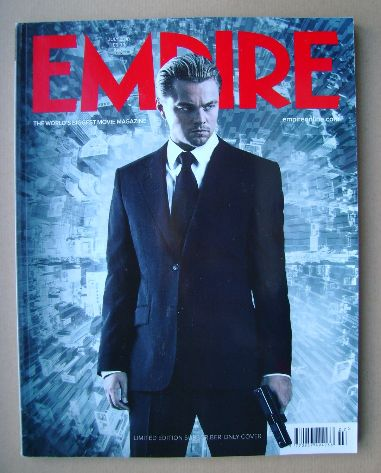<!--2010-07-->Empire magazine - Leonardo DiCaprio cover (July 2010 - Issue