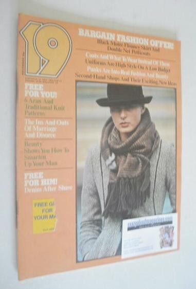 <!--1977-11-->19 magazine - November 1977