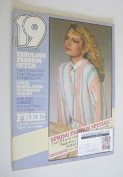 19 magazine - March 1978