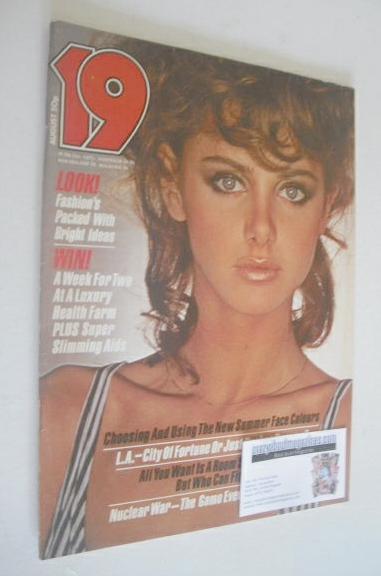 <!--1981-08-->19 magazine - August 1981