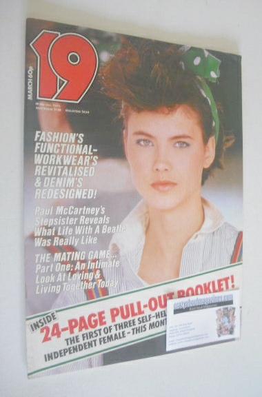 <!--1983-03-->19 magazine - March 1983